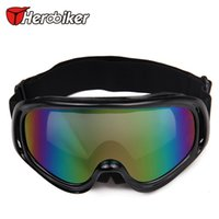 Wholesale 2015 NEW In stock NEW Ski Snowboard Snowmobile Motorcycle Goggles Off Road Eyewear Clear Lens T815