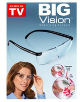 Wholesale 2015 Big Vision degree reading glasses magnifying glasses for Men and Women pinning see things big and clearer