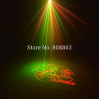 Wholesale new arrival R G Remote Outdoor Waterproof Xmas Laser projector gobo Landscape Light club party Tree house Garden Outside B196