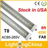 Cheap T8 led tube lights 8ft Best 45W SMD3014 led tubes