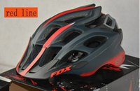 Wholesale new Brand Fox Flux Helmet with Original box and instructions bike Helmet Bicycle helmet colors