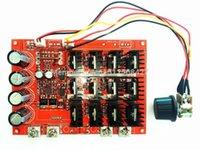Wholesale 10PCS V A DC Motor Speed Control PWM HHO RC Controller V V V W MAX High Quality DHL EMS Fedex