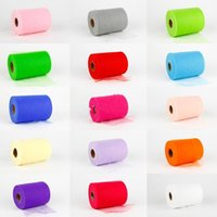 tulle spool - Colorful Matt TULLE Rolls Spool quot x100yd quot x300 Tutu Party Weddings DIY Accessories Decorations Bow D