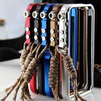Wholesale 1 Quality M2 th design Trigger case Aluminum Bumper Case For iPhone S G Dirt resistant colors DHL