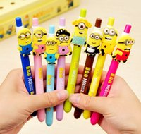 ball point pen drawing - Minions Movies Cartoon Ballpoint Pens Cute Despicable Me Toys Ball Point Pen New Fahion mm Drawing Pens Writing Stationery D5669