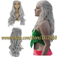 Wholesale Cosplay Wig Inspired by Daenerys Targaryen Dragon Princess Game of Thrones Braids Costume Wigs