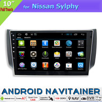 android navigation system - 2 Din Car Origial Radio System Multimedia Navigation Car DVD Player for Nissan Sylphy with GPS TV Wifi RDS Android Quad Core