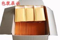 110 * 130 + 40 (mm) / 4.3 * 5.1 pulgadas mensajero de la burbuja de bolsas / sobre de encargo de la burbuja / Auto-sellado de papel Kraft burbujea bolsa messenger