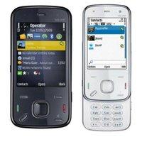 Wholesale 1pcs black white Original N86 Refurbished Cell Phone Unlocked N86 MP WIFI bluetooth G WCDMA GSM Mobile Phone