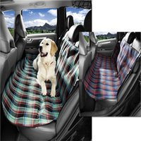 Wholesale whoelsale Pet Dog Cat Rear Back Seat Cover Oxford cloth Car Auto Waterproof Hammock seat cover Pets Blanket Mat Cushion