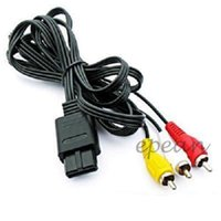 Yes AAA No 6' Audio TV Video Cord AV Cable to RCA for Super Nintendo GameCube N64 SNES