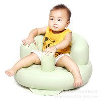 Wholesale Baby Inflatable Sofa Kids Soft Seats High Quality PVC Material Infant Seat Sofa To Eat