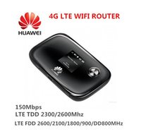 Wholesale UNLOCKED Original HUAWEI huawei e5776s MBPS CAT4 G MOBILE MIFI WIFI Wireless Router repeater for Ipad Iphone Outdoor