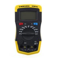 Wholesale LCD Digtital Meter XC6013L Capacitance Capacitor Tester mF uF Circuit Gauge Capacitance Meter Tester