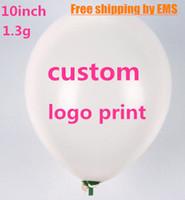 advertising ballons - quot g Custom balloons printing Advertising ballons logo print matte metallic latex balloon ship via EMS