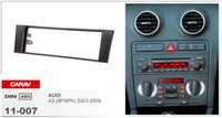 audi plate frame - CARAV Car Stereo Radio Fascia Plate Panel Frame Kit For AUDI A3 P PA Stereo facia surround install trim fit Dash Kit