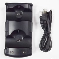 ps3 games - Black in Dual USB Charging Charger Dock for Playstation PS3 Games and for PS3 Move Controller