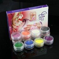Wholesale Mix Color Nail Art Glitter Powder Gloss Polish Glitter for Nail Beauty Hot Sale