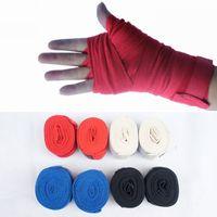 Wholesale 2 meters thai boxing cotton bandage sandbagged bandage hand strap boxing bandages kick boxing gloving boxing equipment