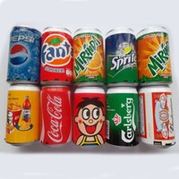 pepsi - Mini Cans Coke Speaker Pepsi Fanta Up Sprite Beer Can Speakers USB Portable Sound Box TF Card Speakers Support FM Radio U Disk