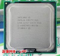 Wholesale Original intel CPU Core2 E6700 CPU GHz pin MB Cache Dual CORE W scrattered pieces