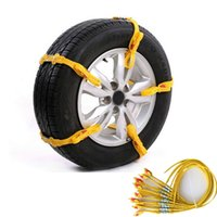 auto tire chains - Universal Adjustable Auto Car SUV Snowblower Tire Snow Chains Mug Ice Road Ground Anti Wheel Slip Chain For mm