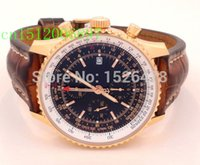 automatic chronograph watches - Top quality Luxury WORLD GMT LIMITED EDITION CHRONOGRAPH RED GOLD mm R24322 Automatic Mens Men s Watch Watches