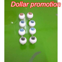 Wholesale 14mm pieces round doll eyes shape Reborn Baby Doll KitsDoll Eyeball Toys Eyeball Round Acrylic Doll Eyes Different Color