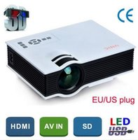 Wholesale 2015 Newest Original UNIC UC40 Mini Pico portable D Projector HDMI Home Theater beamer multimedia proyector Full HD P video