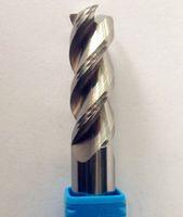 aluminum carbide - D7X25XD8X60LX2T HRC45 Solid Carbide Flutes End Mill For Aluminum