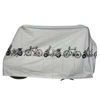 Wholesale Bike Motorcycle Rain Dust Cover Waterproof Outdoor Scooter Protector Gray NVIE order lt no track