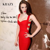 krazy dresses - New Krazy fashion the queen sexy low cut V neck cutout big slim hip slim dress Sexy dress
