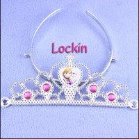 Wholesale Frozen girls crown princess crown tiara dress Elsa Anna princess crowns tiara girls party hair accessories hairband hair sticks hairbows