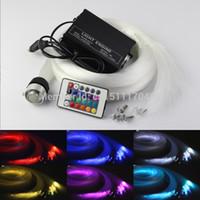 fiber optic lighting - LED fiber optic star ceiling kit light mixed strands m mm mm mm crystal W RGB Engine key Remote