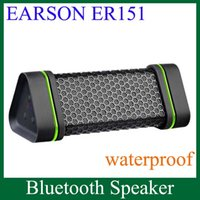 Wholesale Mini Wireless Bluetooth Speaker EARSON ER151 Strong Bass Waterproof Stereo For Samsung HTC Smart Phones PC MP3 MP4 High Quality MIS060