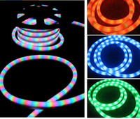 Wholesale by FEDEX meter spool led flexible neon tube light red yellow green blue white color v or v led m accessories