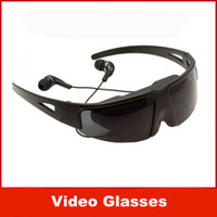 glasses fpv - Hot Sale quot Portable Video Glasses FPV Glasses with AV IN Function for IPod IPhone PSP PMP MP4 MP5 DVD etc