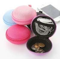 Wholesale High Quality Earphone Storage Carrying Bag Retail Package Headphone Earbud Case Cover For USB Cable Key Coin Mini Zipper Case Hot Sale