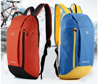 Wholesale 5 colors Outdoor Backpacks Hiking Camping bags men Oxford travel backpack Large Capacity Students School Shoulder Bags R1120