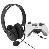 live chat - Gaming Chat Headphone Headset with Microphone Mic for Microsoft Xbox Live Black