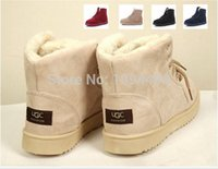 Wholesale Women Winter Boots Fashion Women Boots Botas Mujer Fur Snow Boots Women Ankle Boot Flat Heels Winter Shoes Warm Snow Shoes