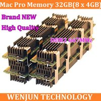 Wholesale Original NEW for Mac Pro Memory GB x GB Matched Pair Fully Buffered PC2 DDR2 pin DIMM for MacPro order lt no