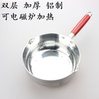 Wholesale Thick snow layer composite bottom pan milk pot cooking porridge hot pot can Multifunction Induction heating