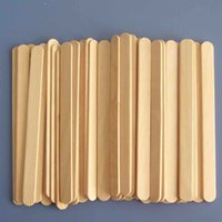 Wholesale Wooden Material Tongue Depressor for Dental Clinic Salon Spa Wax Piercing Birch Wood Skin Care Tool F0068