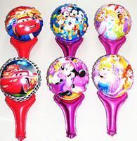 party happy birthday - 2015 sale Cartoon Metallic Happy Birthday Decoration Frozen Princess Queen Anna Round Balloon for Kids Party Supplies Foil inch Ballon