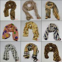 Wholesale Cheap Leopard Animal Animal Print Light Hot Women s Scarves Infinity Stylish Scarf Girl s Pashmina Shawl Wrap Lady s Long Neckerchief