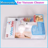 damaged - 2014 New Design WaxVac Electronic Ear Vacuum Cleaner Effective Ear Cleaner for Cleaning and Dry Ears No Damage to Ear Drums