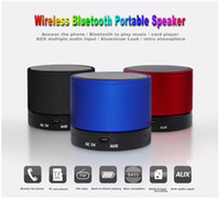 speakers music - S10 Bluetooth Speakers Mini Wireless Portable Speaker HI FI Music Player Stereo Subwoofers Home Audio Support TF Card FM Mp3 Player