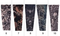 Wholesale Simulation tattoo sleeves outdoor cycling arm set fishing is prevented bask in cuff Have the applique arm sleeve