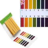 Wholesale 2 X Mini Strips Full Range PH Paper Water Alkaline Acid Litmus Tester Paper